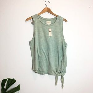 🌟Anthropologie Maeve Knot tank